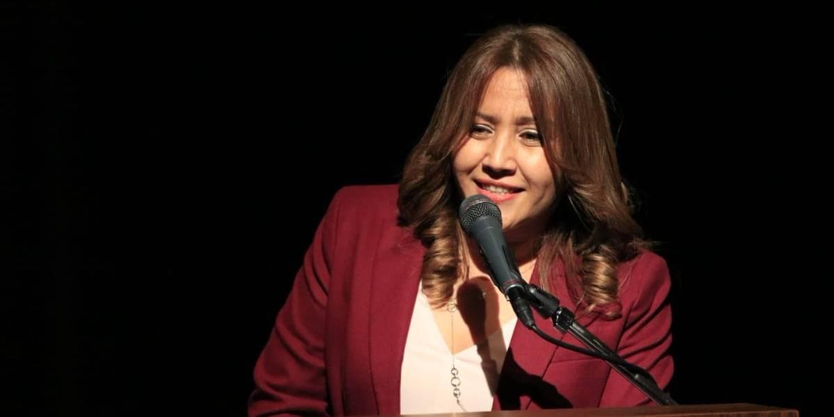 Tras retornar de España, Patricia de Morales viajará a Emiratos Árabes