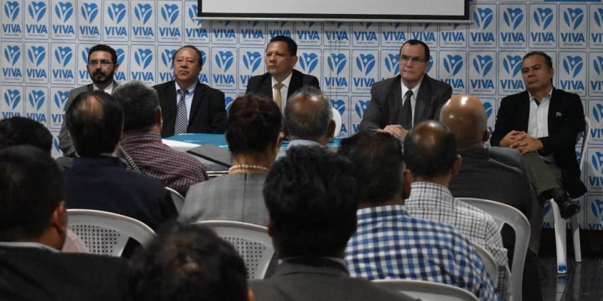 Viva proclamará a su binomio presidencial en enero de 2019