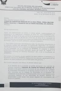 Interpol niega pedido de difusión roja en contra de Rafael Correa por el caso Balda