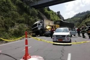 Quito: Siete heridos tras accidente de tránsito en Nayón