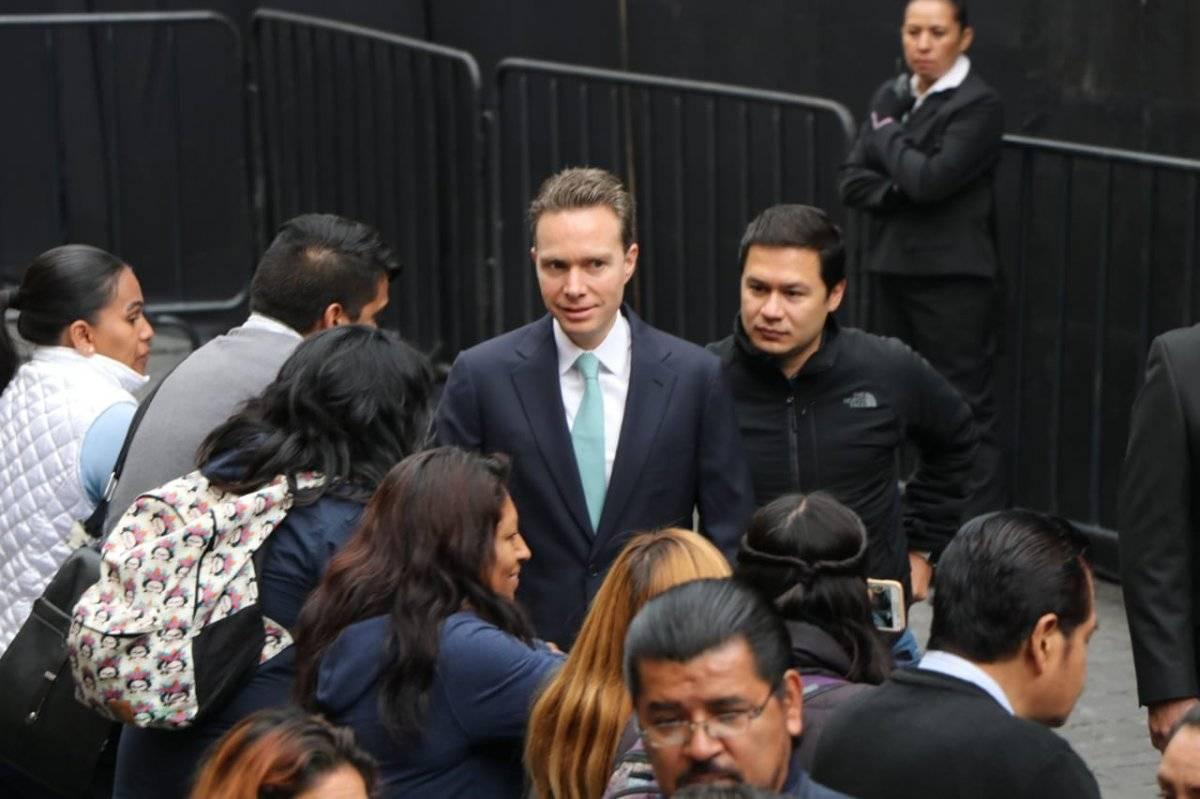 Manuel Velasco, gobernador de Chiapas Foto: Ángel Cruz