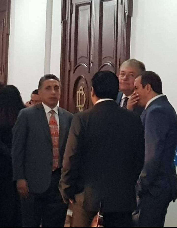 Manuel Negrete Arias, alcalde de Coyoacán y Cuauhtémoc Blanco, gobernador de Morelos Foto: Ángel Cruz