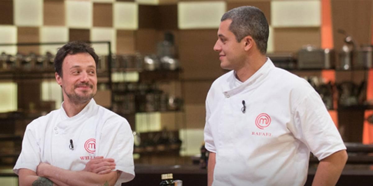 MasterChef Profissionais: 'Quero dizer que cozinho melhor que o Rafael', afirma Willian