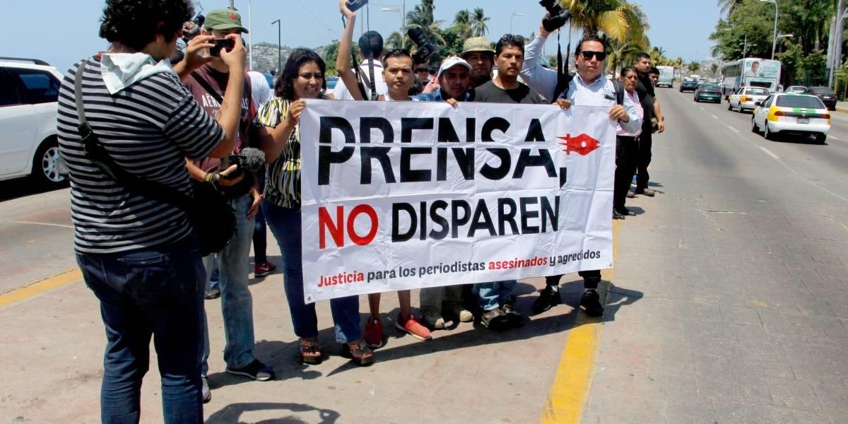 En México diariamente se registran dos agresiones a periodistas