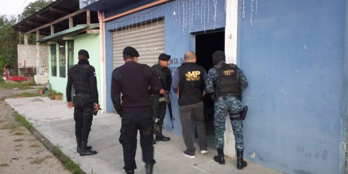 MP y PNC realizan allanamientos por el caso Narcotráfico y Política