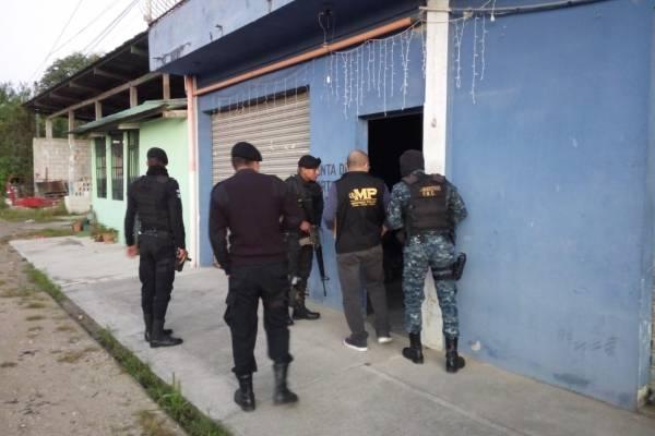 allanamiento contra narcotráfico