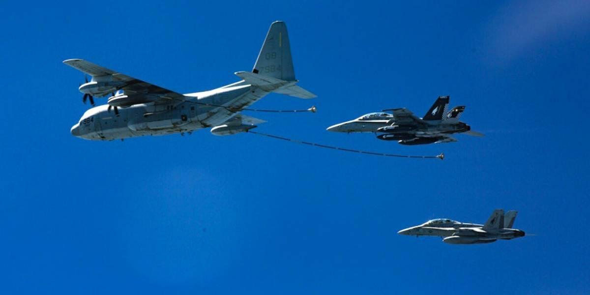 Dos aviones militares de Estados Unidos chocan frente a las costas de Japón: hay cinco desaparecidos