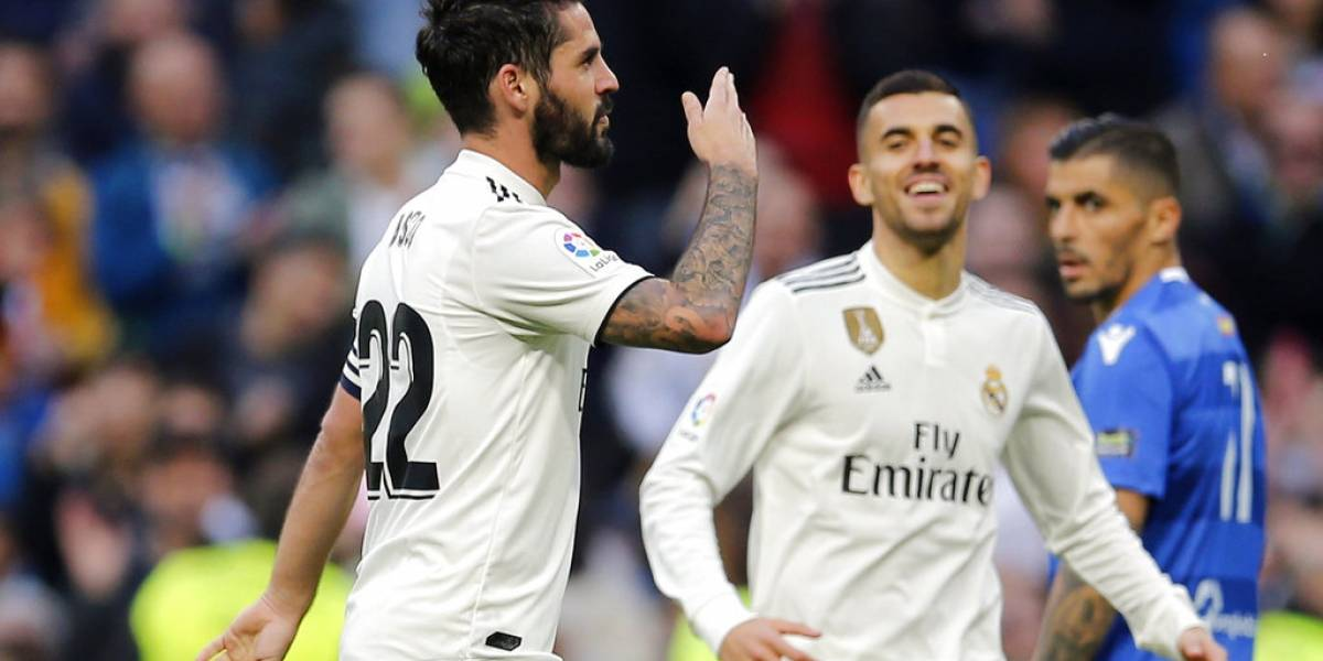 Real Madrid volvió a golear y pasó sin problemas