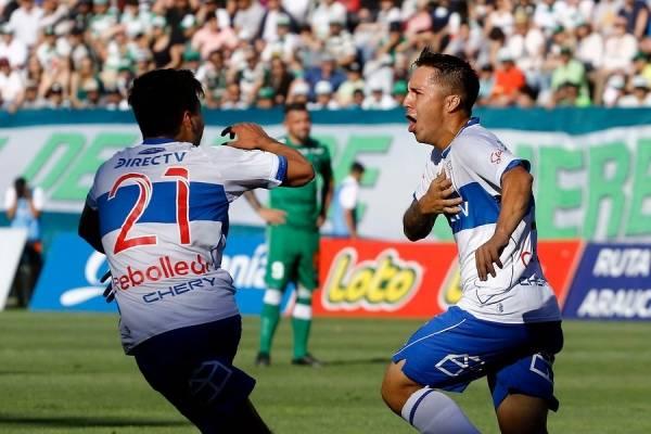 Jaime Carreño podría renovar su contrato en la UC y partir a préstamo / Foto: Agencia UNO