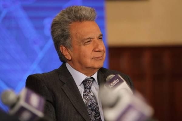 Lenín Moreno envía terna para vicepresidente de Ecuador