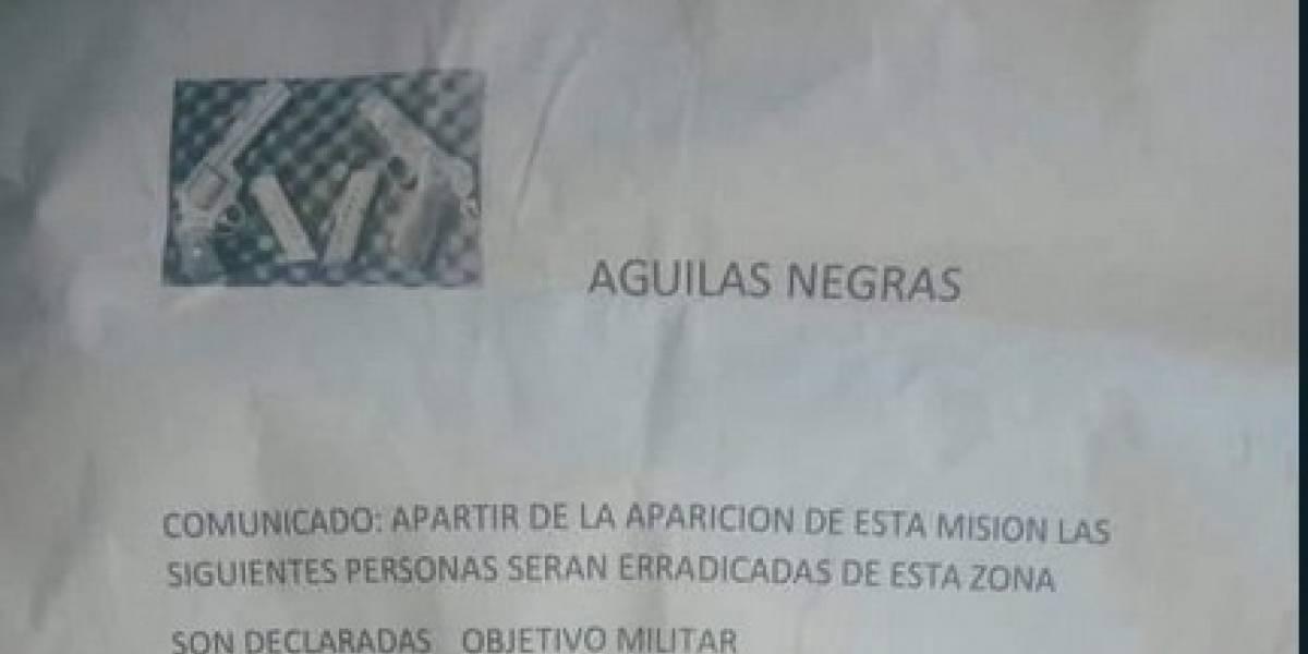 Temor en Bogotá por panfleto amenazante