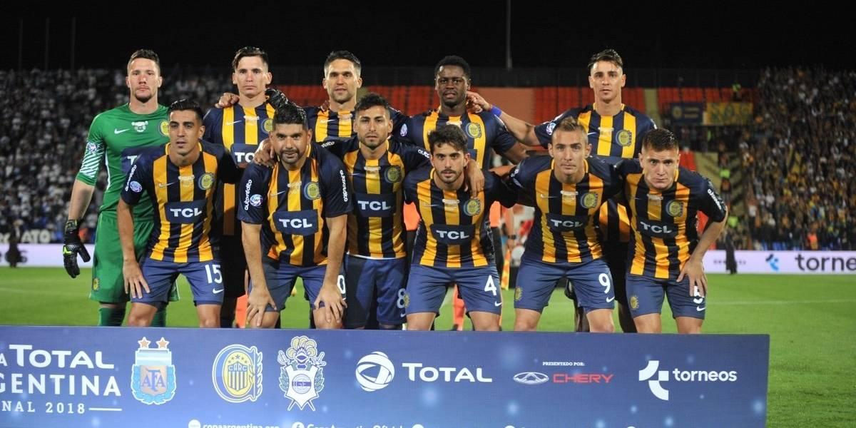 Alfonso Parot gritó campeón de la Copa Argentina con Rosario Central