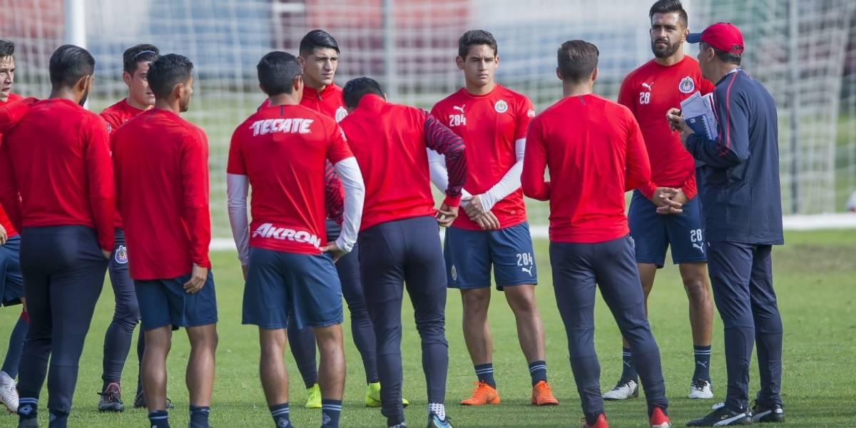 Jugadores de Chivas ya conocen su número para el Mundial