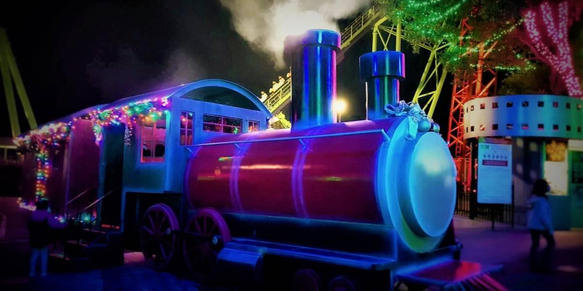 La Navidad llegó a Six Flags con Christmas in the Park