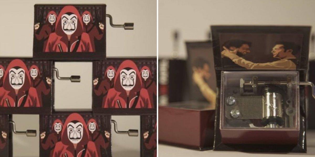 La Casa de Papel: Potugueses criam caixinha de música temática que todo fã gostaria de ter