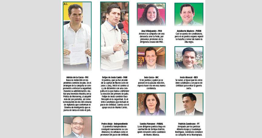 Arranca intensa campaña para elección extraordinaria de Monterrey