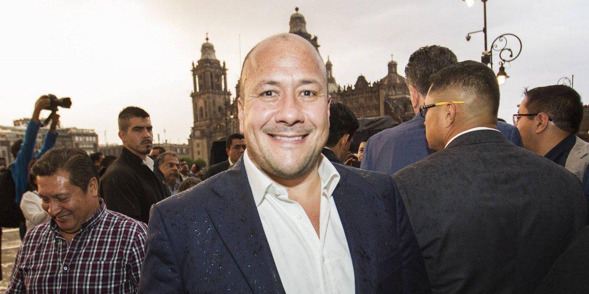 Enrique Alfaro rindió protesta como gobernador de Jalisco