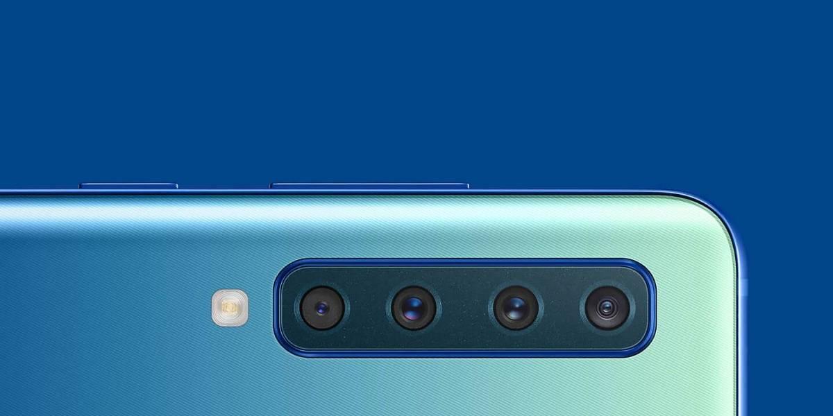 Samsung trae a Chile su celular con 4 cámaras, el Galaxy A9 2018