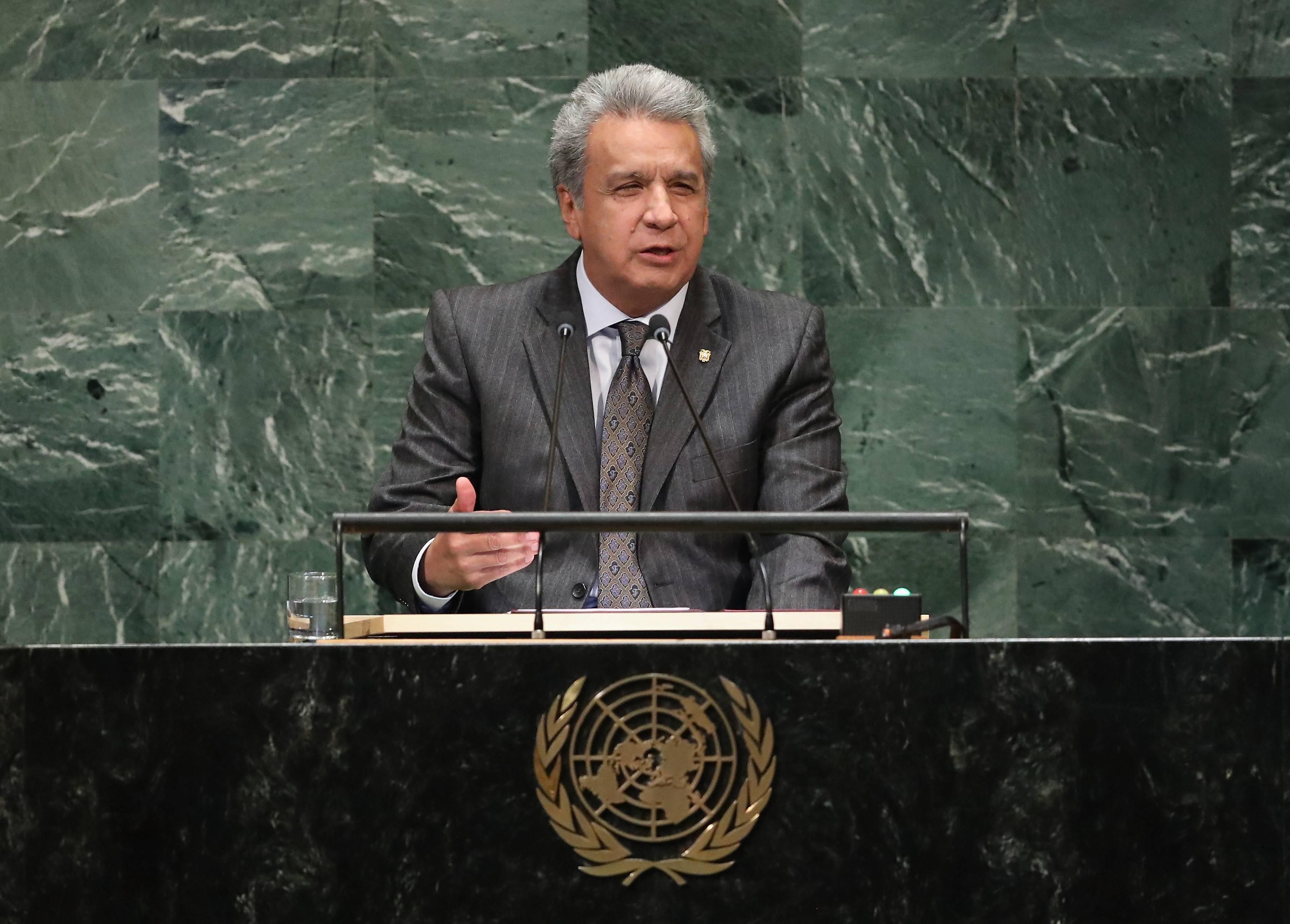 Ecuador está buscando soluciones para que Julian Assange pueda entregarse pronto a la justicia