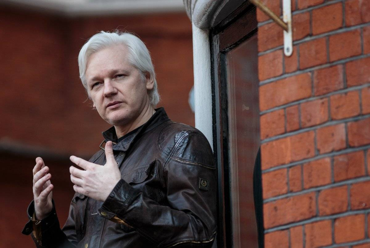 Julian Assange, fundador de WikiLeaks Foto: Getty Images