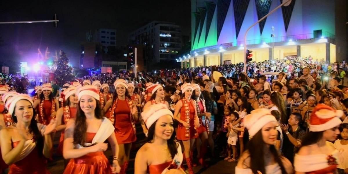 La Navidad y sus personajes desfilarán en la Gran Parada de la Luz, en Barranquilla