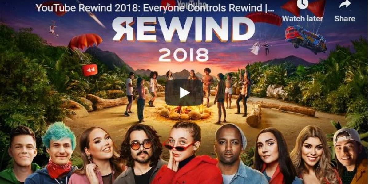 ¡Al fin! Mira el increíble YouTube Rewind del 2018