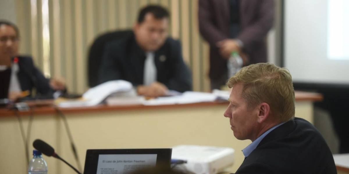 Bitkov declara ante Tribunal y niega haber incurrido en procesos ilegales