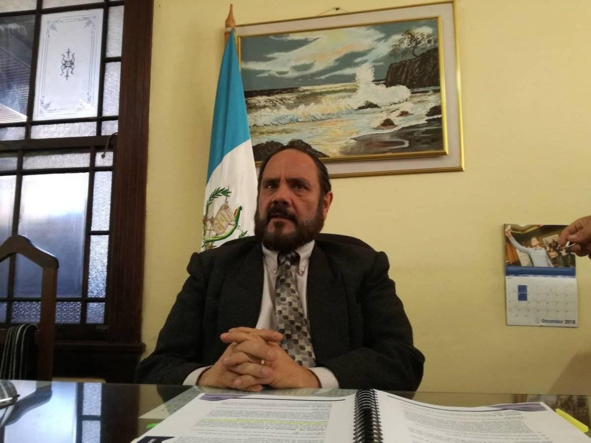 Leopoldo Guerra es director del Registro de Ciudadanos del TSE. Foto: Saira Ramos