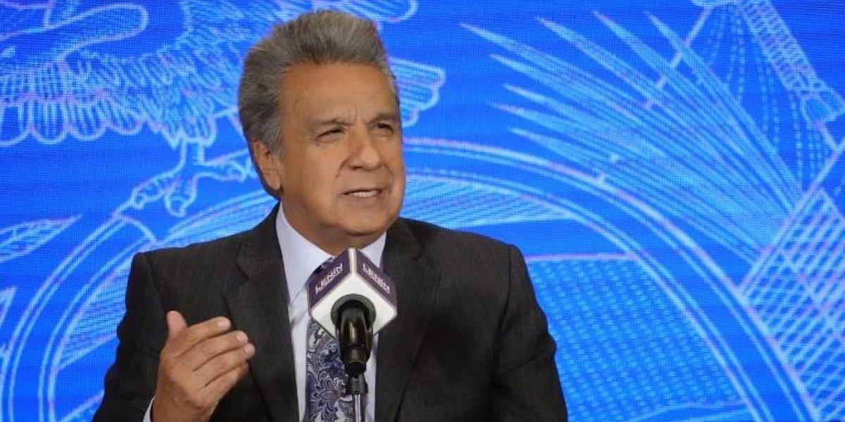 Moreno revela nombres de integrantes de terna para vicepresidente