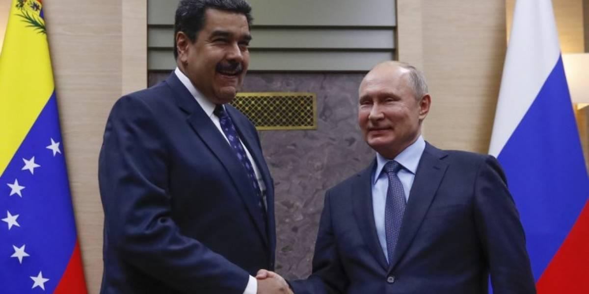 Maduro anuncia inversiones de Rusia en Venezuela por 6 mil millones de dólares