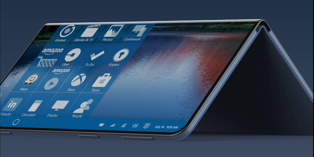 El Proyecto Centaurus no sería otra cosa más que una tablet Surface con pantalla que puede doblarse.