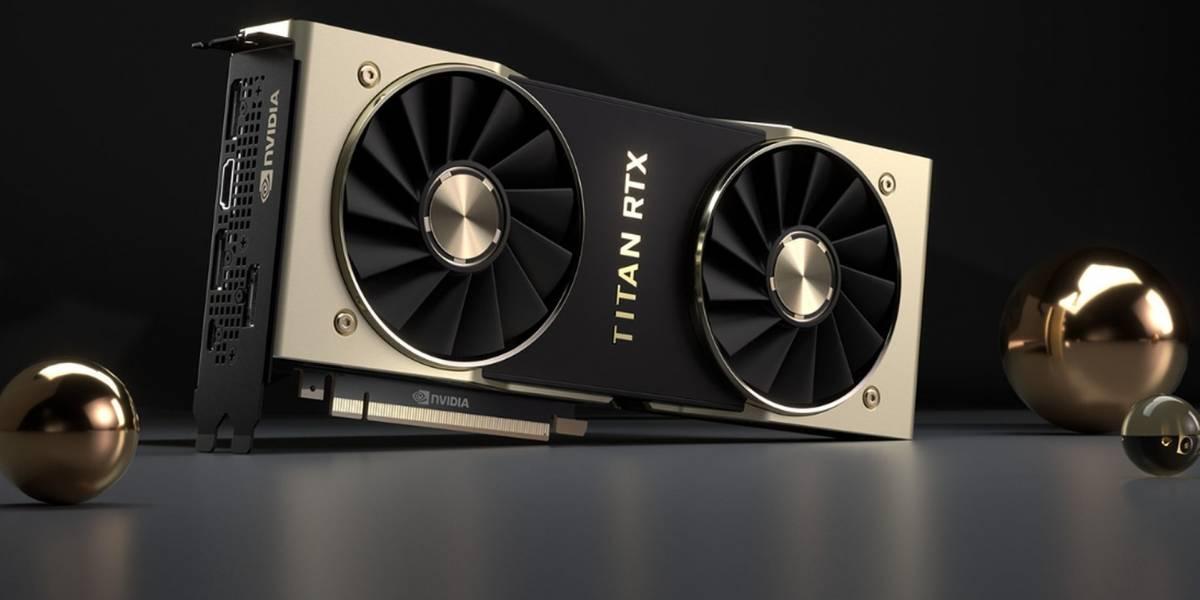 NVIDIA finalmente anuncia al titán de Turing: la poderosa TITAN RTX