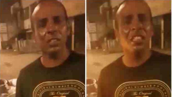 Video: este hombre denunció ante la Policía que le vendieron harina en vez de cocaína