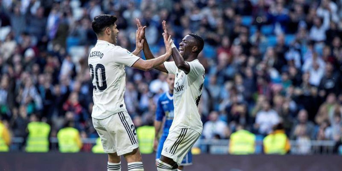 Lleno de suplentes, el Real Madrid golea al Melilla y avanza a octavos