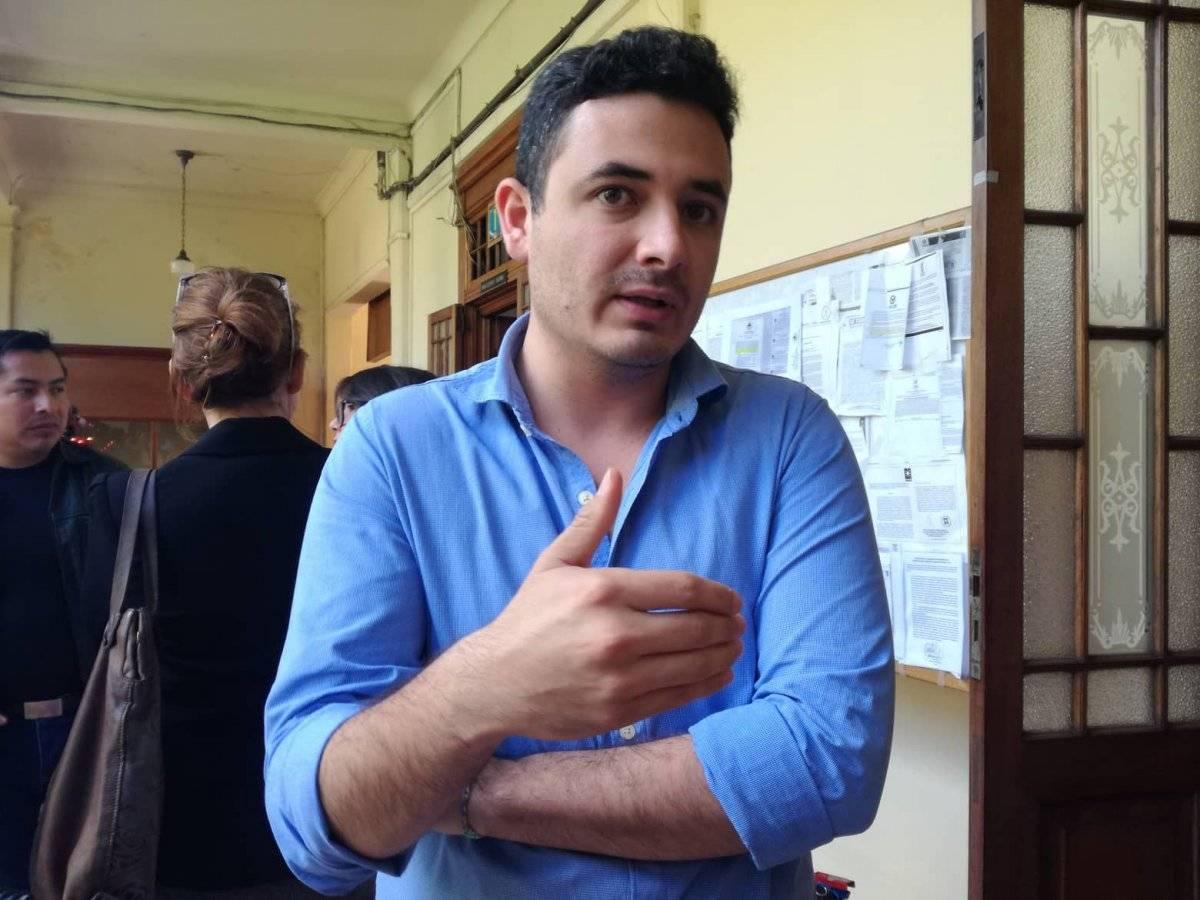 Samuel Pérez Álvarez es el secretario general provisional del Movimiento Semilla. Foto: Saira Ramos