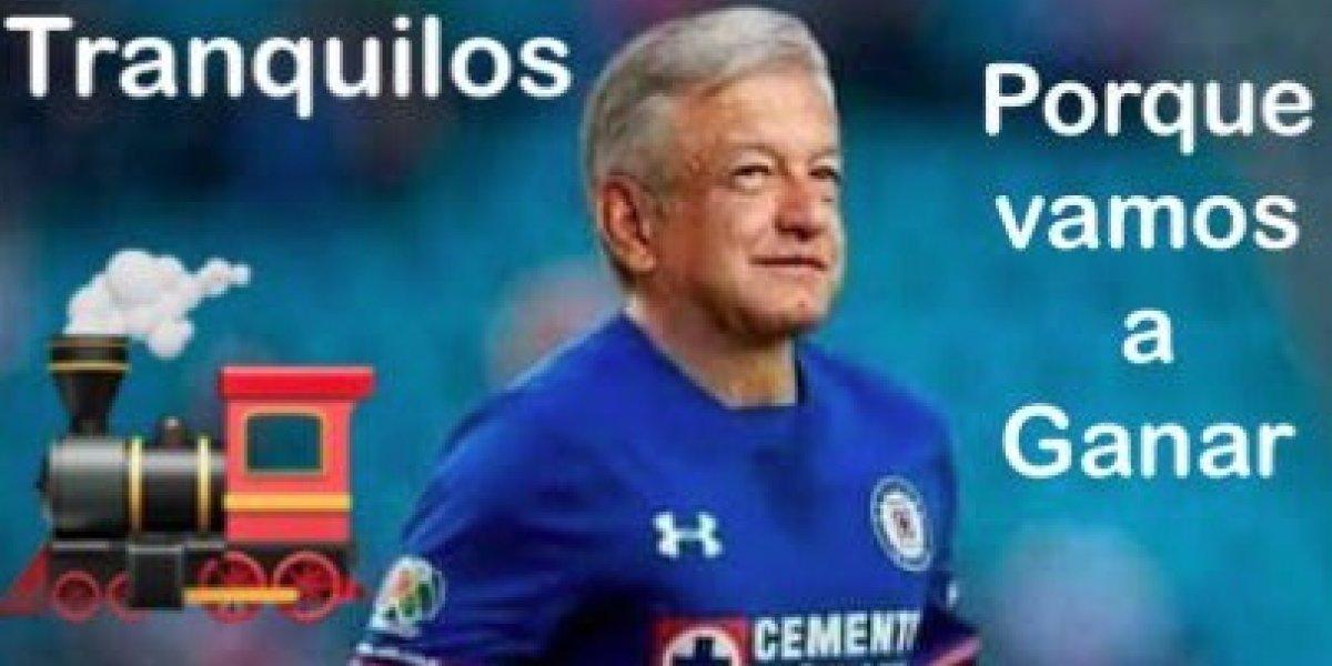 Los mejores memes del juego de ida entre Rayados y Cruz Azul