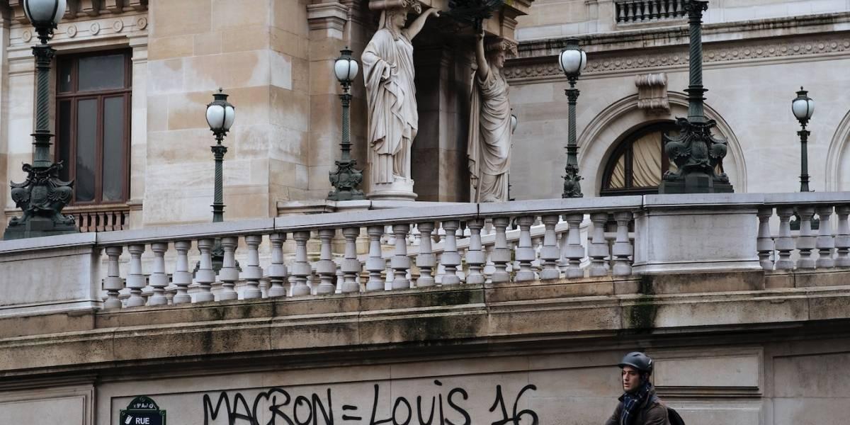 La cultura del levantamiento de masas persiste en Francia