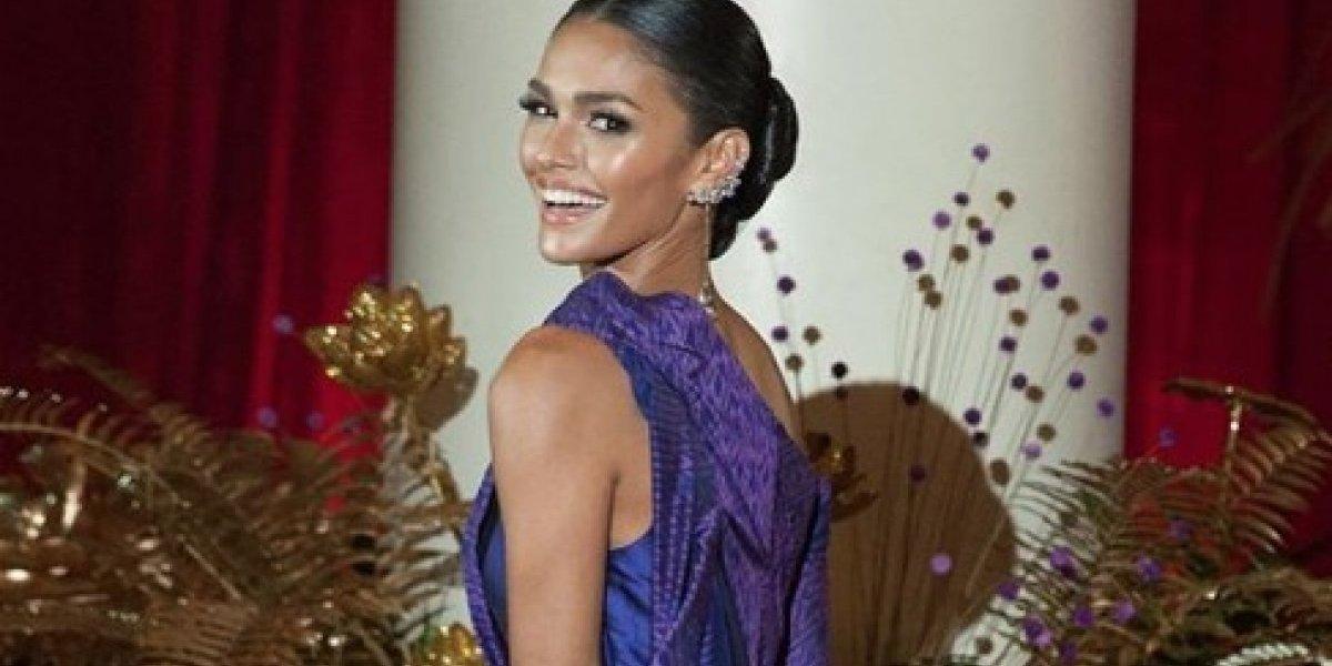 Kiara Liz posa para Miss Universo sin una gota de maquillaje