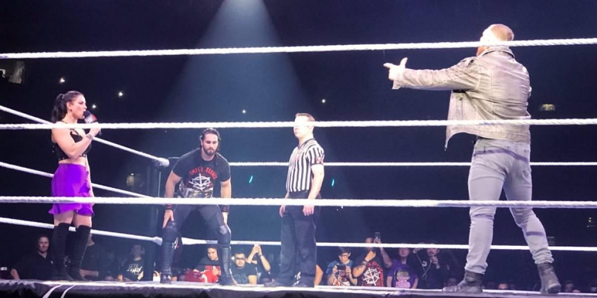 Seth Rollins deslumbró a todos en una WWE Live Santiago que tuvo el debut de Ronda Rousey en Chile