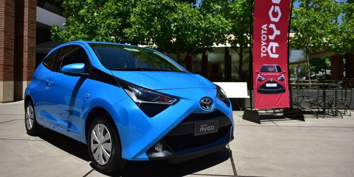 Aygo, la carta de Toyota para ir por los hatchbacks más pequeños