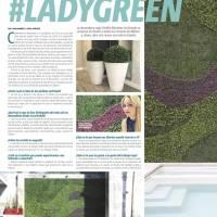#Ladygreen, la gurú de los jardines verticales