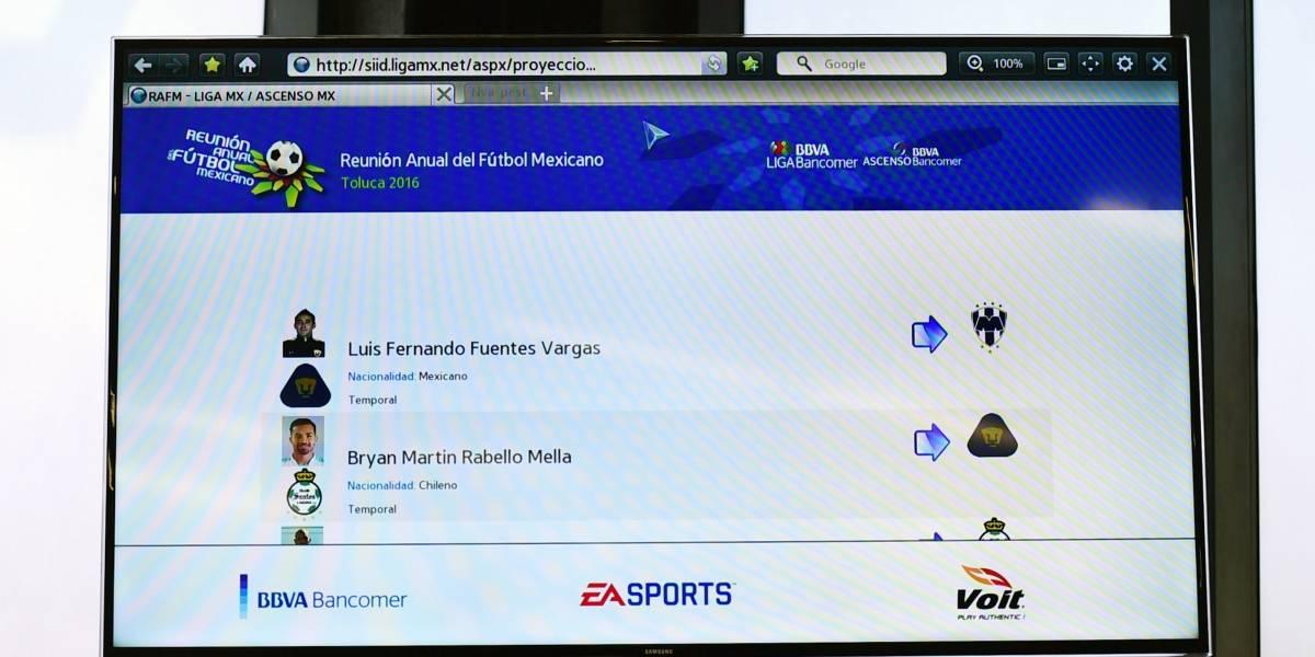 Draft para el Clausura 2019 de la Liga MX será digital