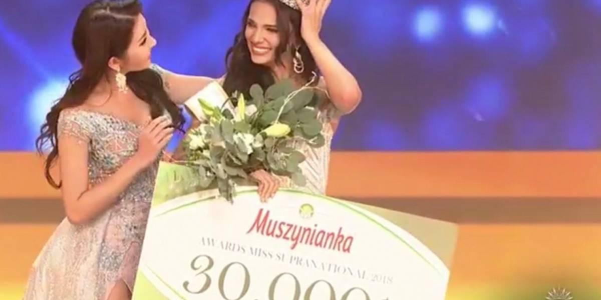 De Puerto Rico la nueva Miss Supranational 2018