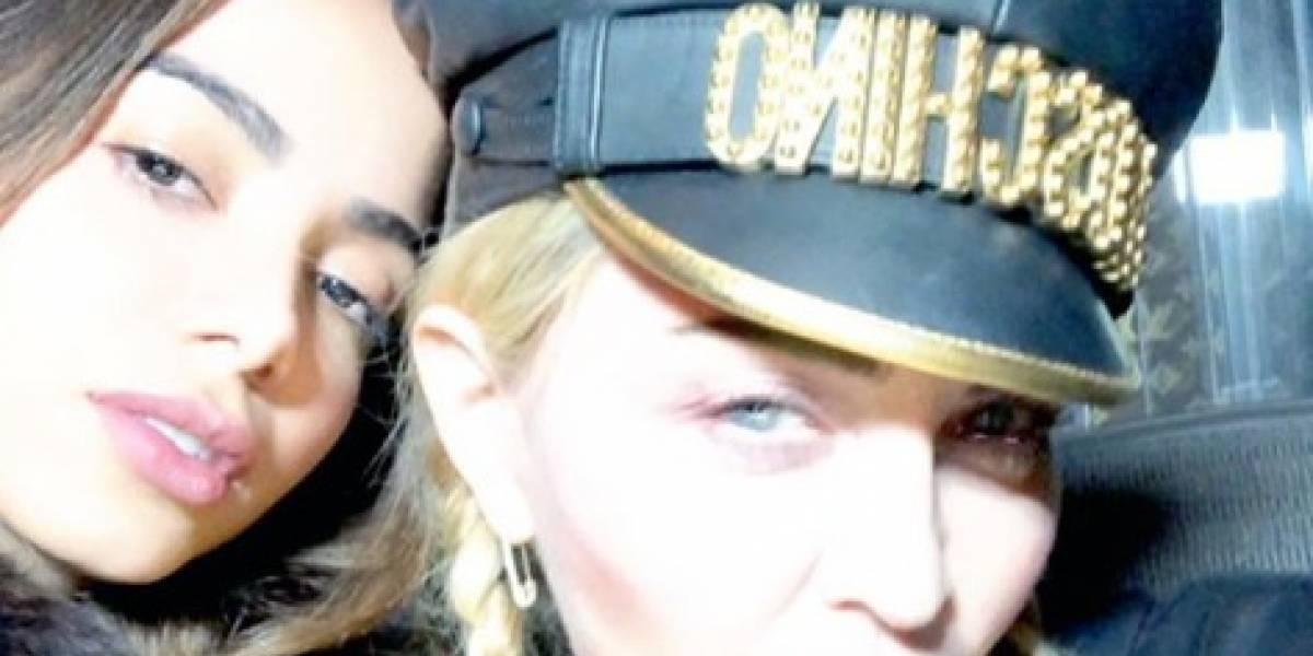 """""""Aprendizado"""", afirma Anitta em foto com Madonna"""