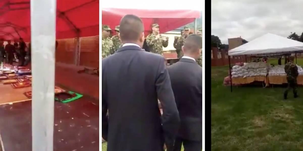 La desafortunada despedida que el Ejército le hizo a sus soldados
