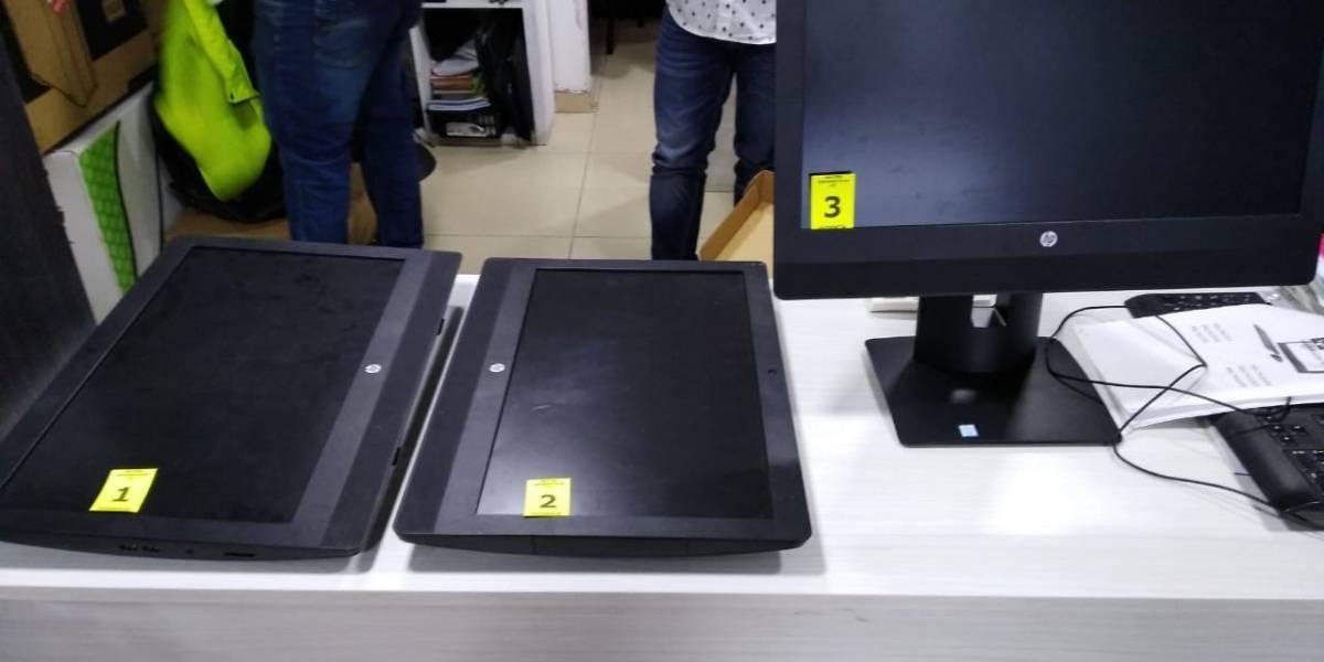 En este centro comercial se vendían los computadores hurtados en la UNAD