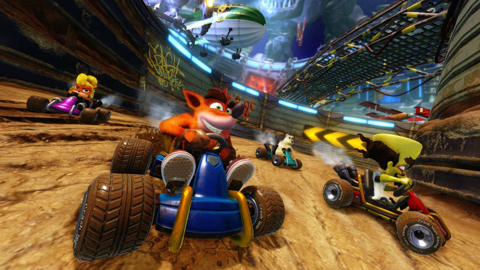 Anunciado Crash Team Racing Nitro-Fueled para Switch, PS4 y Xbox One