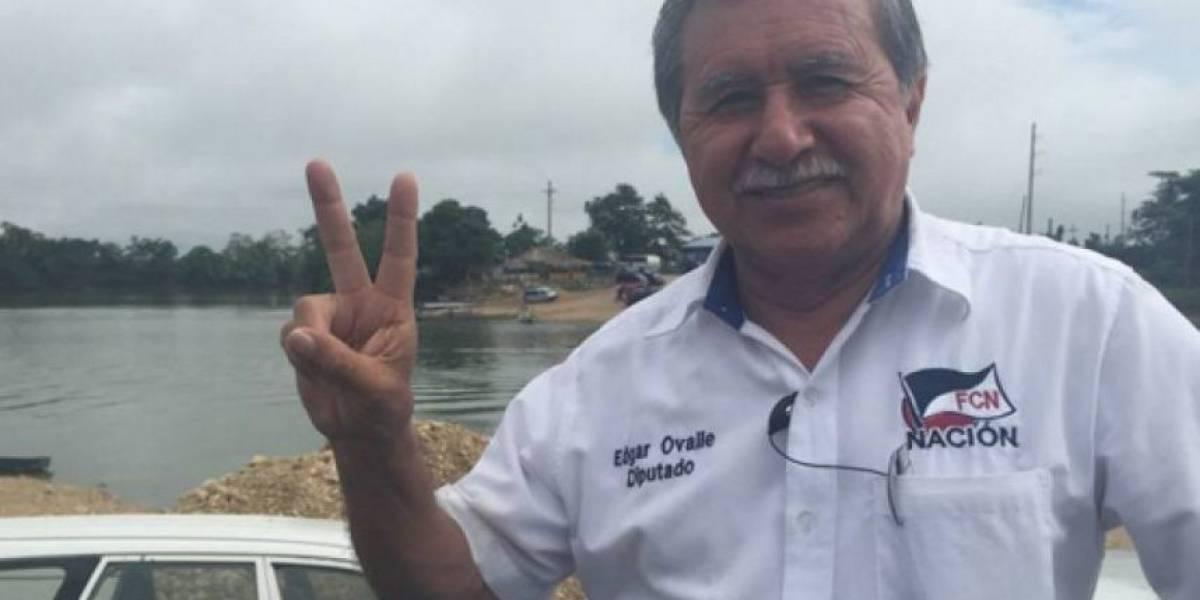 Fiscalía de DD. HH. busca capturar a exdiputado prófugo Edgar Ovalle