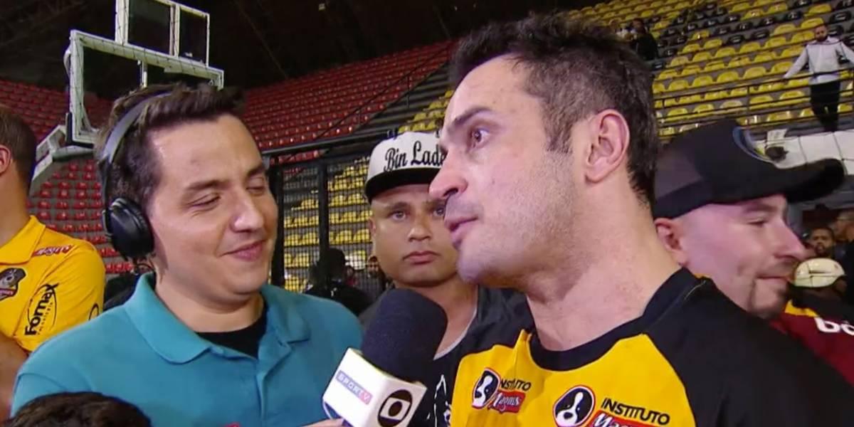 Aos 41 anos, Falcão se despede do futsal