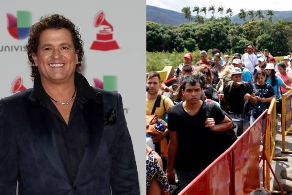 Carlos Vives y apoyo a venezolanos fueron premiados